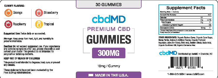 cbdmd Ingredients