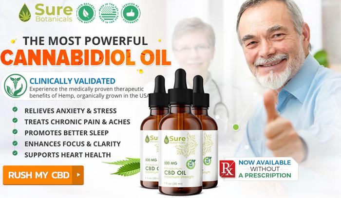 buy sure botanicals cbd oil