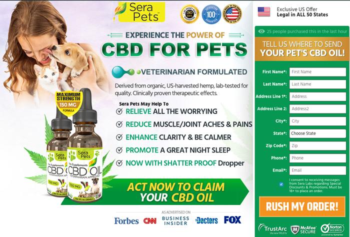 Sera Pets CBD Oil