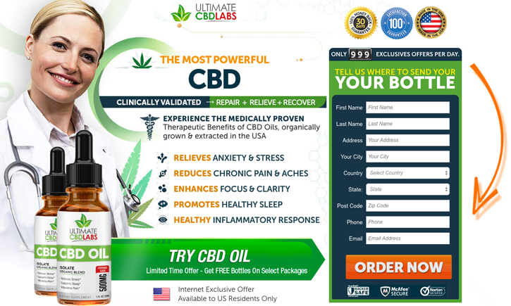 Ultimate CBD labs oil review