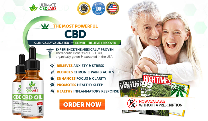 Ultimate CBD labs CBD Oil