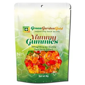 Green garden gold Gummies