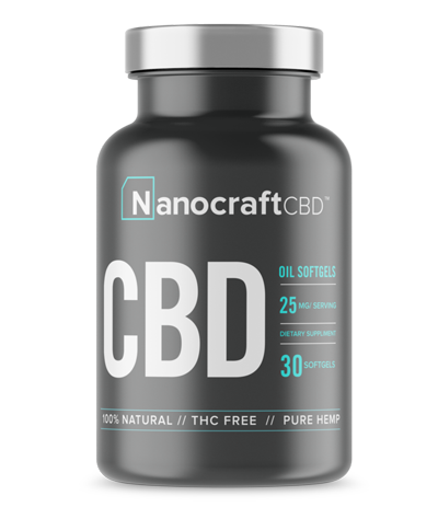 nanocrcaft softgel CBD