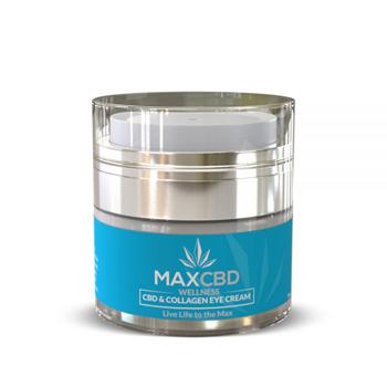 maxcbd collagen eye cream