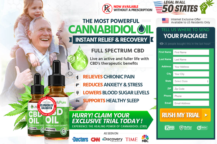 buy Life's Pure CBD