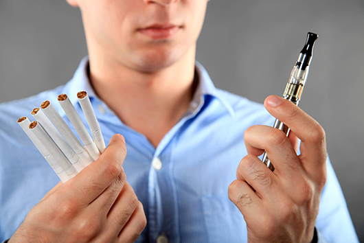 cigarettes or e-cig