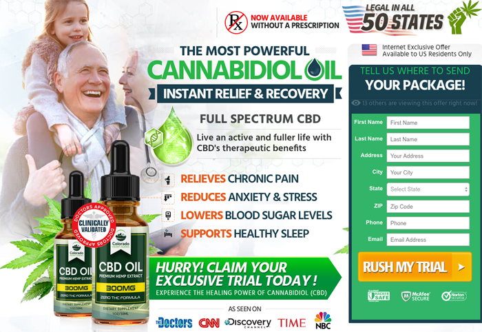 order Colorado Hemp Farms CBD Oil