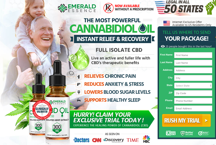 order Emerald Essence CBD Oil