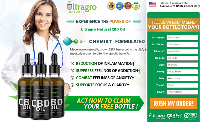 Buy Ultragro Natural CBD Oil