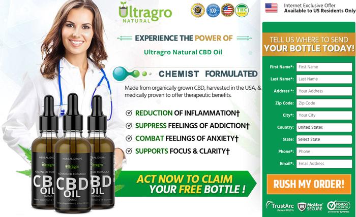 Buy Ultragro Natural CBD Oil