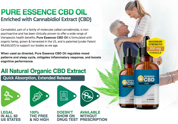Essence CBD Pure Oil review