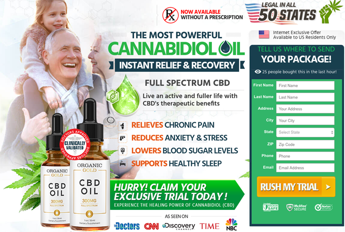 Organic Gold CBD Oil Review