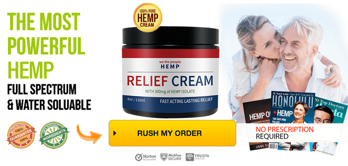 Order We The People Hemp CBD Cream