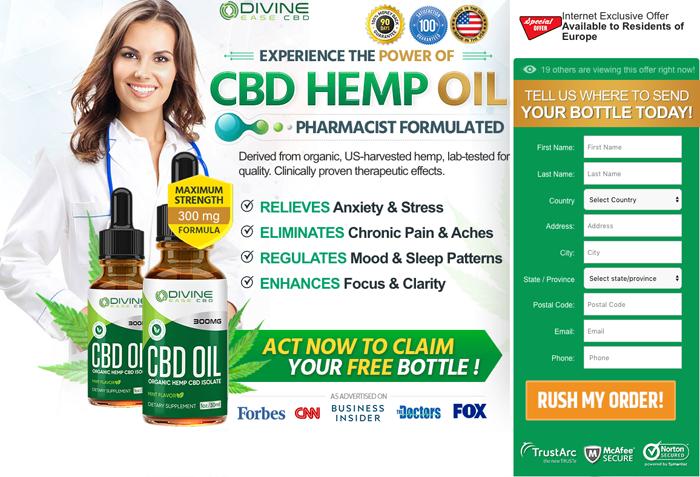 Divine Ease CBD Oil Review