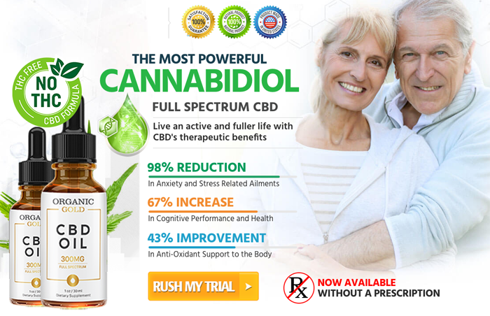 Buy Organic Gold CBD Oil