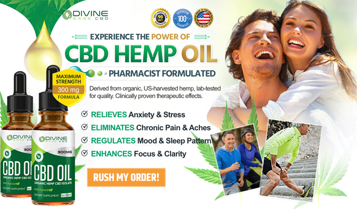 Order Divine Ease CBD Oil