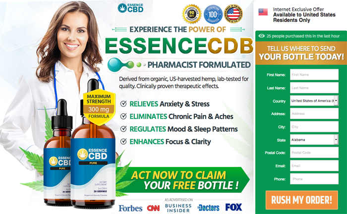 order Essence CBD Pure Oil