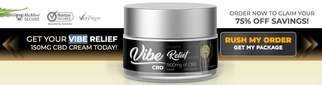 order Vibe CBD Cream