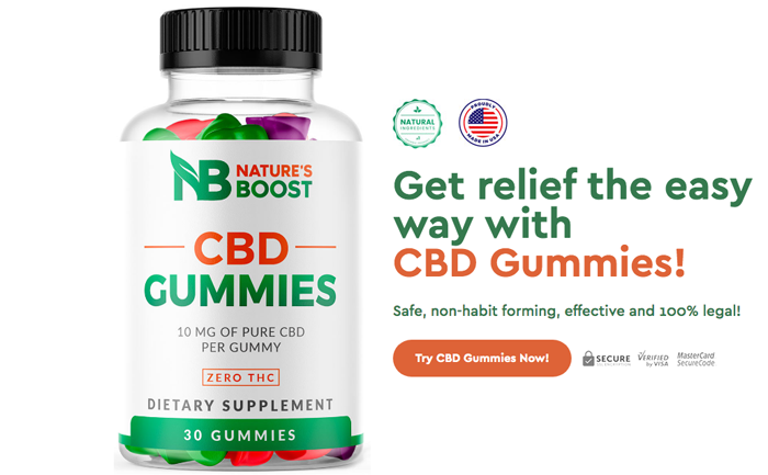 order natures boost cbd gummies