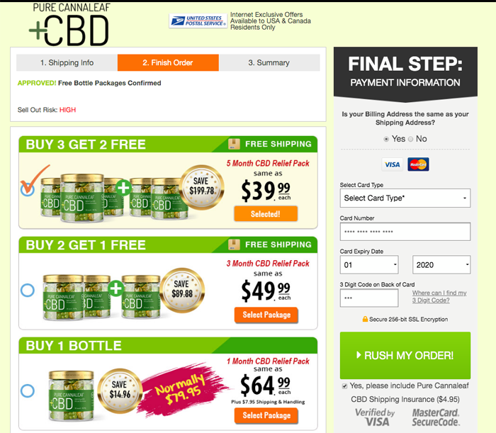 Pure Cannaleaf CBD Gummies Price