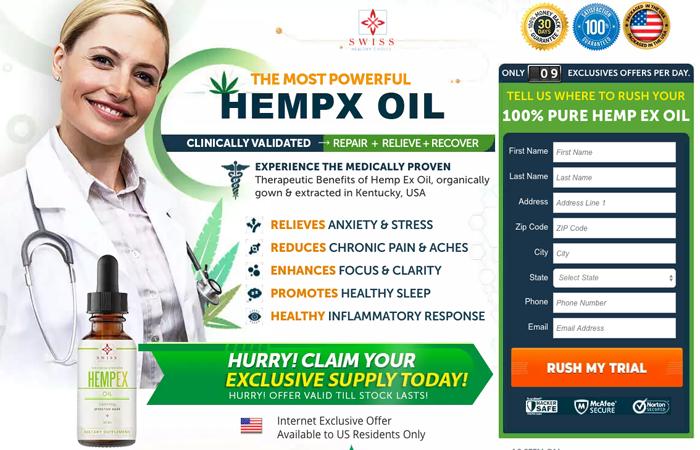 Swiss Hempex Oil