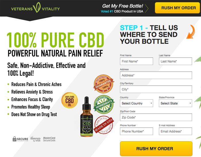 Veterans Vitality CBD Review
