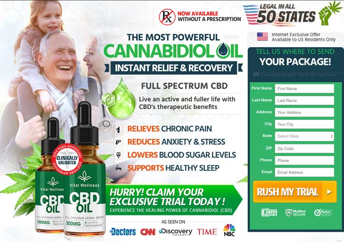 Vital Wellness CBD Oil Review