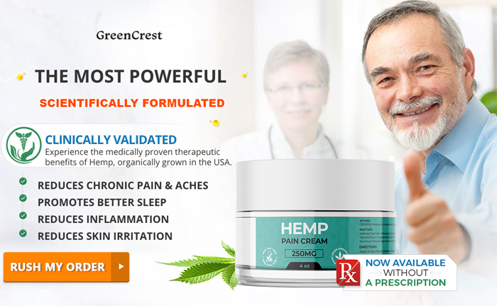 Buy Green Crest Hemp Pain Cream