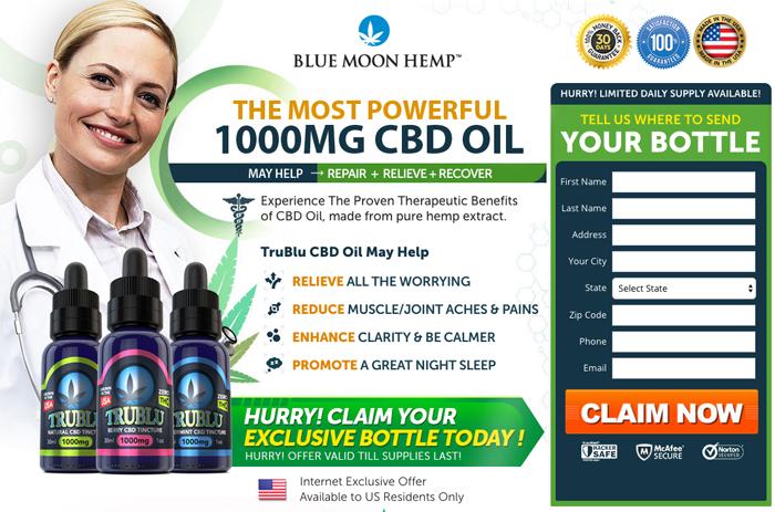 TruBlu CBD Oil Review