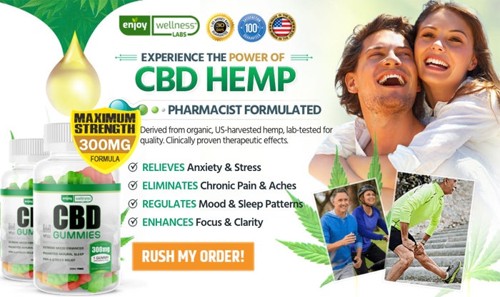 Order Enjoy Wellness Labs CBD Gummies
