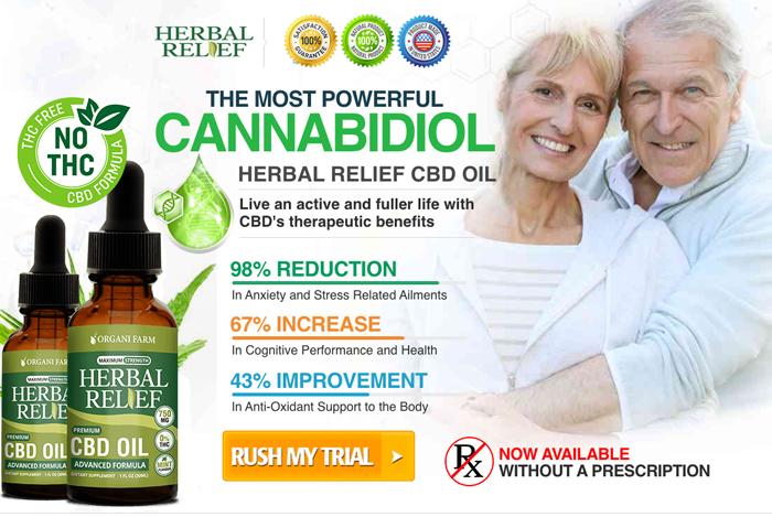 Order Herbal Relief CBD Oil