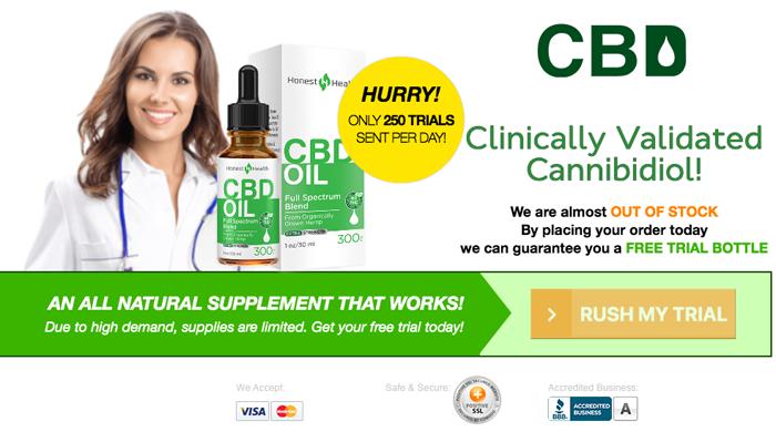 Order Honest Health CBD Oil