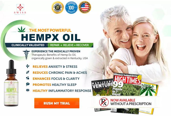 Order Swiss Hempex Oil