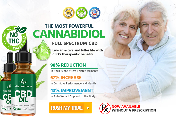 Order Vital Wellness CBD Oil