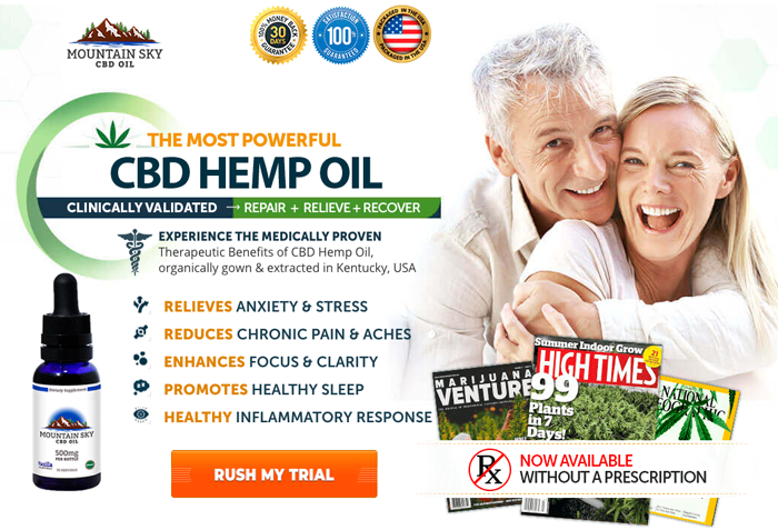 Order Mountain Peak CBD Oil