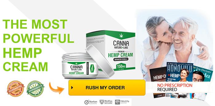 Canna Nature Labs Hemp cream review