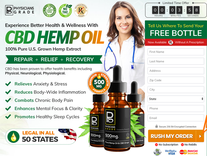 Physicians Grade Pure Hemp Oil Review