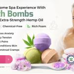 Soothing Greens CBD Bath bombs