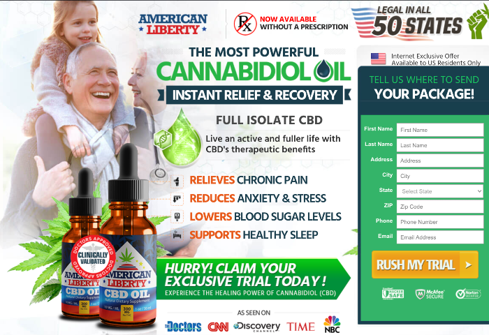 American Liberty CBD Oil Review