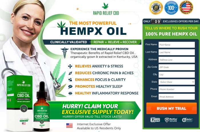 Rapid Relief CBD Oil Review