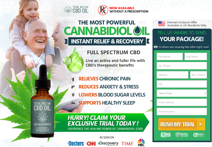 Total Releaf CBD Oil Review