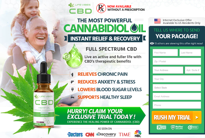 Life Vibes CBD Oil Review