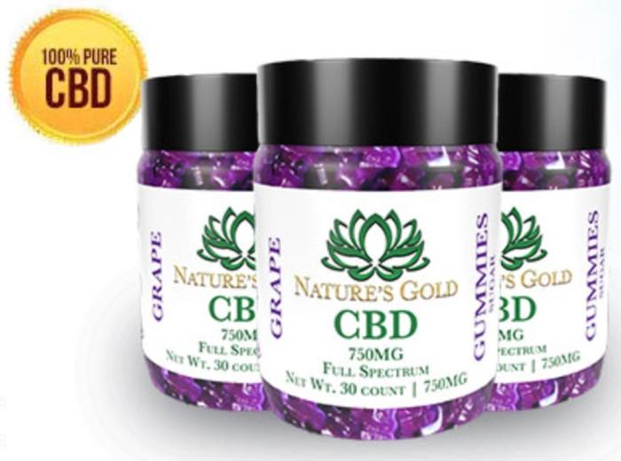 Nature's Gold CBD Gummies